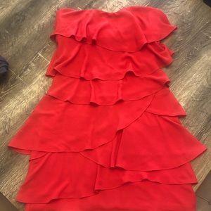 BCBG strapless dress